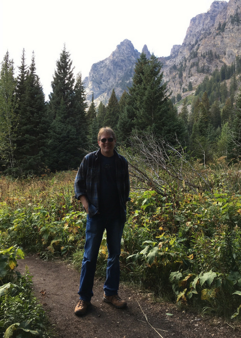Re-Kinect Client Hiking in Wyoming after 25 Years of Back Pain