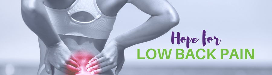Hope for Low Back Pain