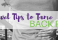 Re-Kinect 6 Tips to Tame Back Pain While Traveling